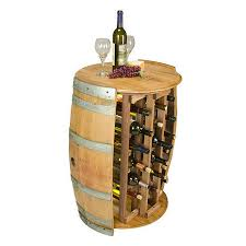 wine barrel wine rack furniture. Interesting Rack 28 Bottle Wine Barrel Rack With Head Top To Furniture T