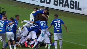 Resultado de imagem para Cruzeiro é campeão da Copa do Brasil. Flamengo, vice.