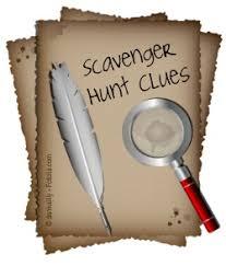 Image result for scavenger hunt