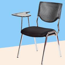 <b>2pcs</b>/lot Simple Modern <b>Office Chair</b> With Writing Board Conference ...