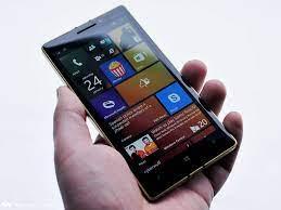 golden edition Nokia Lumia 930 ...