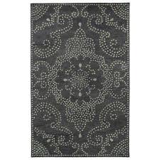 art tiles charcoal 10 ft x 13 ft area rug