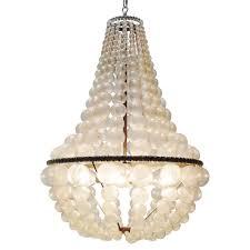 oly studio ariel bubbled antique silver chandelier