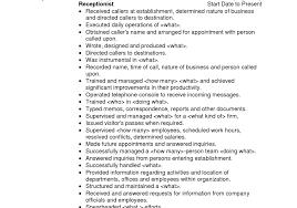 resume prepossessing sample receptionist resume cover letter dentist receptionist jobsdentist receptionist jobs xl size sample receptionist resume cover letter
