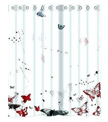red and black shower curtain black white and red shower curtain red black shower curtain pink red and black shower curtain