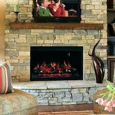copper grove hay river black faux stone electric fireplace with bookcases blower dimplex motor