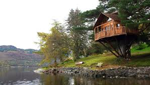 The Tree House At The Lodge Loch Goil  Exclusive Photo Shoot Treehouse Scotland