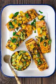 Grilled Salmon Recipe with Mango Salsa ...