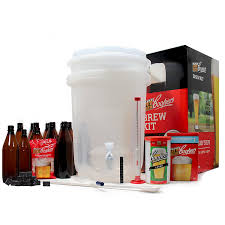 com coopers diy beer home brewing 6 gallon all inclusive craft beer making kit with patented brewing fermenter beer hydrometer brewing ings