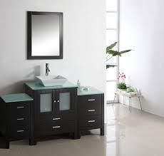 modern single bathroom vanity. Bathroom Sink Cabinet Ideas : Modern Single Vanity Glass W Mirror Faucet