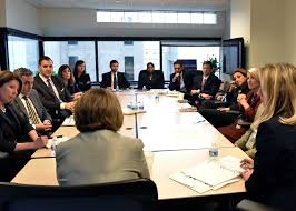 Lisa Monaco Meets With CVE Task Force ...