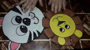 How To Make Face Mask From Chart Paper How To Make An Animal Face Mask Using Paper Plate For School Project