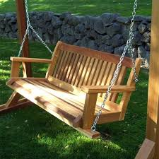 wooden swinging benches hanging wooden bench swing wood swinging bench plans wooden swinging benches