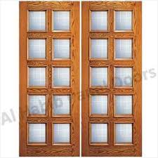 modern wood and glass front doors cozy dayar wooden double door with glass football design