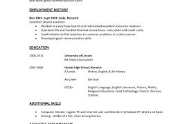 One Job Resume Template One Job Resume Templates Resumes And Cover Letters 12