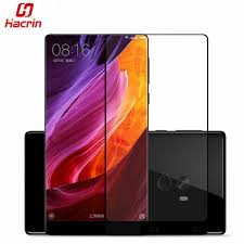 <b>Hacrin Xiaomi</b> Mi Mix Tempered Glass Full <b>Cover</b> 3D Color Anti ...