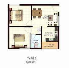 image of 500 sq ft house plans in tamilnadu style