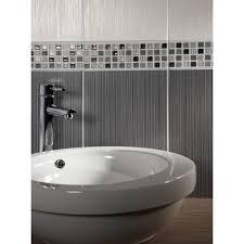 dark grey bathroom tiles. Plain Tiles 25x40cm Willow Dark Grey Wall Tile By BCT On Bathroom Tiles