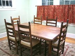 cost to refinish dining room table and chai how