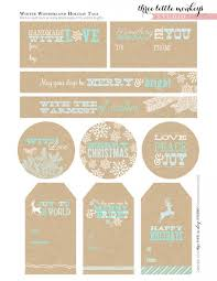 Free Printable Holiday Gift Certificates Enchanting FREE Christmas Party Printables From Three Little Monkeys Studio
