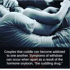couples that cuddle can bee addicted to one another