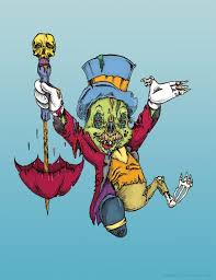 Small Picture A Fine Conscience A zombified Jiminy Cricket illustrationAlbert