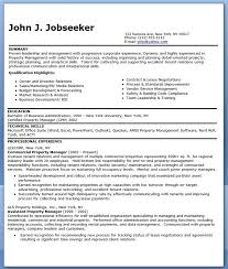Commercial Property Manager Resume Templates Creative Resume - billing  manager resume