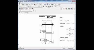 Beam Design Formulas Mathcad Beam Design Formulas 17
