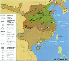 Древний Китай Цивилизация древнего Китая Китайская империя Карта древнего Китая в эпоху Цинь и Хань