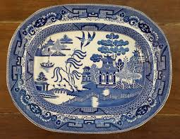 Blue Willow Pattern Magnificent Decorating Design
