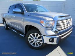 2014 Toyota Tundra Limited Crewmax in Silver Sky Metallic - 152066 ...