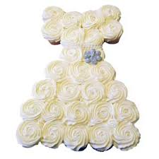 Cupcake Cake Wedding Dress Cupcakes Cakes