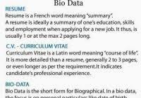 Curriculum Vitae Vs Resume Best Template Collection For What Is The
