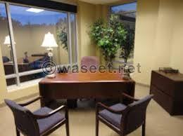 decorated office. For Rent A Luxery Fully Furnished Decorated Office Zalka Citte Mussa 70700020 F