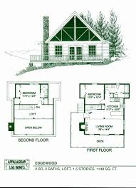 4 Bedroom Log Home Floor Plans Fresh Small Cabin Best