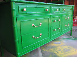 painted green furniture. No Fear Of Color, Bamboo Styled Dresser Redo Painted Green Furniture N