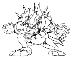 Mario And Luigi Bowser Coloring Pages Coloring Page Coloring Page
