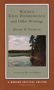 walden civil disobedience and other writings by henry david  walden civil disobedience and other writings by henry david thoreau