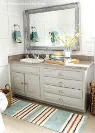 double vanity bath rug modern cottage bathroom refresh with better homes and gardens generations one roof