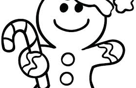 Coloring Pages Gingerbread Man Gingerbread Man Coloring Pages Trend