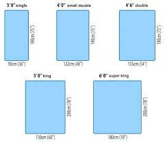 Bed Sizes In Feet And Inches India Queen Pakistan Size To
