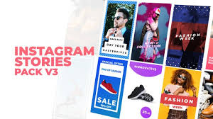 After Effects Story Book Template Instagram Stories Pack V3 After Effects Templates Motion