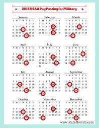 Unique 35 Examples Usaa Pay Calendar 2019 Etxettipia Com