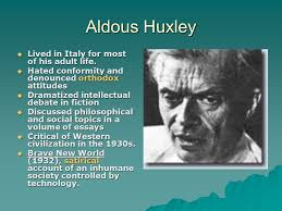 brave new world by aldous huxley ppt video online  5 aldous