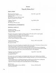 Physician Assistant Student Resume Physician Assistant Student