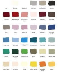 Folk Art Paint Chart Folk Art Paint Colors Chalk Paint Color Chart Amazing