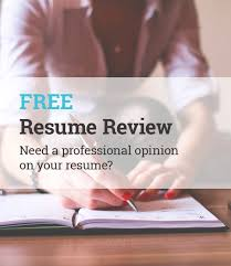 Free Resume Review Adorable FREE Resume Review And Evaluation Need A Professional Opinion On