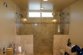 foxy bathroom decoration using etched glass shower doors epic picture of bathroom decoration using cream