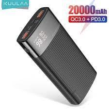 Sạc Dự Phòng KUULAA 20000mAh USB 3.0