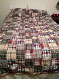 Woolrich Quilt & WOOLRICH PATCHWORK DENIM & SUEDE TAN/BLUE/CREAM ... & Woolrich Home Patchwork Madres Plaid Quilt Twin Coverlet Comforter . Adamdwight.com